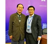 马友泉与著名刑诉法教授樊崇义合影
