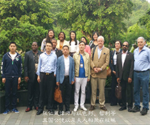 张仁藏律师与以色列、智利等五国公使以及